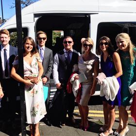Mini bus Hire for Weddings