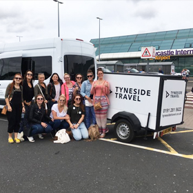 Newcastle Airport Mini Bus Transfer