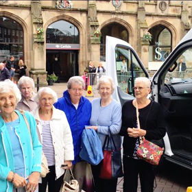 Residential care home mini bus