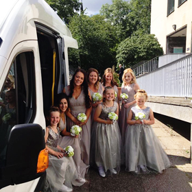 Wedding Newcastle Mini Bus Hire