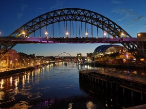 Tyne bridge is a must visit in newcastle